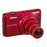 Nikon Coolpix S6500 Rouge