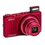 Nikon Coolpix S9500 Rouge