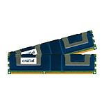 Crucial 32 Go (2 x 16 Go) DDR3L 1333 MHz CL9 ECC Registered QR X4