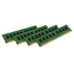 Kingston ValueRAM 16 Go (4 x 4 Go) DDR3 1333 MHz ECC CL9