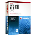 McAfee Internet Security 2013 - Licence 1 an 1 poste