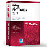 McAfee Total Protection 2013 - Licence 1 an 3 postes