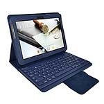 Heden Housse Business Bleue pour Samsung Galaxy Tab 10.1 2