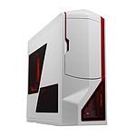 NZXT Phantom (blanc / rouge) - Edition Limitée