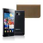 Samsung Galaxy S2 GT-i9100 + Etui en cuir