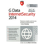 G Data Internet Security 2014 - Licence 1 ans 3 postes