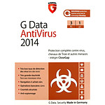 G Data AntiVirus 2014 - Licence 1 an 3 postes