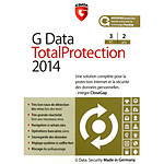 G Data Total Protection 2014 - Licence 2 ans 3 postes