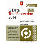 G Data Total Protection 2014 - Licence 1 ans 3 postes