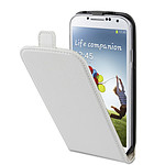 xqisit FlipCover Blanc Samsung Galaxy S4