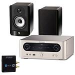 Marantz MCR503 + Boston A25 Noir + Advance Acoustic WTX 500