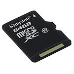 Kingston microSDXC 64 Go Class 10