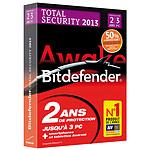 Bitdefender Total Security 2013 - Licence 2 ans 3 postes (Offre d'Attachement)