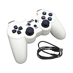 Under Control Manette Bluetooth Blanche (PS3)