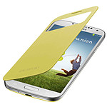 Samsung S-View Jaune pour Galaxy S4