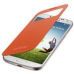 Samsung S-View Orange Samsung Galaxy S4