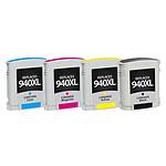 LDLC pack économique compatible HP 940 XL (BK + C + M + Y)