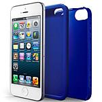 Case Scenario Skin & Bones Protectve Cover iPhone 5 Bleu