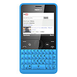 Nokia Asha 210 Double SIM Cyan