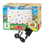 Nintendo 3DS XL Blanche + Animal Crossing : New Leaf - Edition Spéciale + + Under Control Max Power 5 en 1