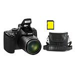 Nikon Coolpix P520 Noir + CS-P08 Noir + Carte SDHC 4 Go