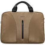 SmartSuit Briefcase Marron