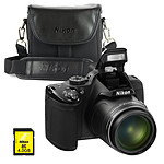 Nikon Coolpix P520 Noir + CS-P08 + SDHC 4 Go