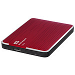 WD My Passport Ultra 500 Go Rouge (USB 3.0)
