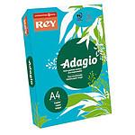 Adagio Ramette de papier 500 feuilles A4 80g coloris Bleu Intense