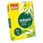 Adagio Ramette de papier 500 feuilles A4 80g coloris Jaune Intense