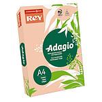 Adagio Ramette de papier 500 feuilles A4 80g coloris Nectarine