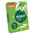 Adagio Ramette de papier 500 feuilles A4 80g coloris Vert Intense