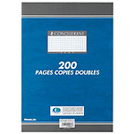Conquerant 200 pages copies doubles 5x5