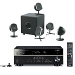 Yamaha HTR-4066 Noir + Focal Little Bird Pack 5.1 Noir