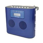 Metronic Radio CD/MP3 Portable Bleu
