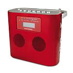 Metronic Radio CD/MP3 Portable Rouge