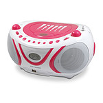 Metronic Radio CD/MP3 Pop Pink