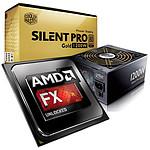 AMD FX 9590 Unlocked (5.0 GHz Max Turbo) + Cooler Master Silent Pro Gold 1200W