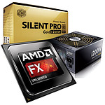 AMD FX 9370 Unlocked (4.7 GHz Max Turbo) + Cooler Master Silent Pro Gold 1200W