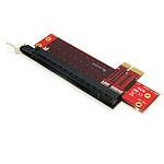StarTech.com adaptateur PCI-Express 1x vers 16x