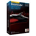 Bitdefender Internet Security 2014 - Licence 1 an 3 postes