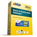 EBP Devis et Facturation Bâtiment 2014 + Services VIP