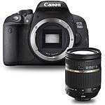 Canon EOS 700D + Tamron AF 18-270mm F/3,5 -6,3 Di II VC PZD monture Canon
