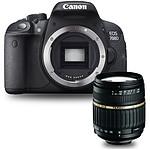 Canon EOS 700D + Tamron AF 18-200mm F/3,5-6,3 XR Di II LD ASL [IF] MACRO monture Canon