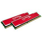 Kingston HyperX red 8 Go (2 x 4 Go) DDR3 1600 MHz CL9