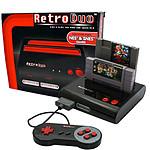 Retro Duo Noire NES & SNES