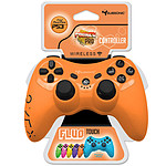 Subsonic PRO Controller Fluo Collection Orange (PS3)