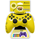 Subsonic PRO Controller Fluo Collection Jaune (PS3/PC)