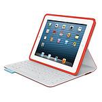 Logitech FabricSkin Keyboard Folio (Mars Red Orange)