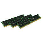 Kingston ValueRAM 24 Go (3 x 8 Go) DDR3 1600 MHz ECC Registered CL11 DR X8 (Intel)